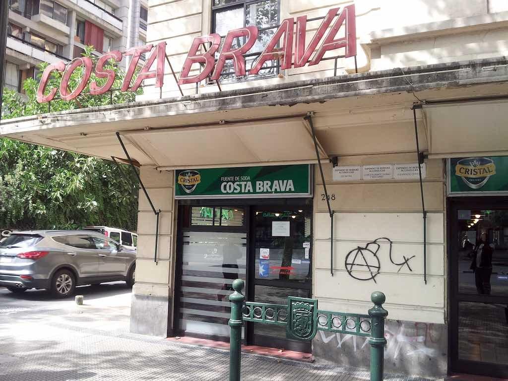Santiago, Chile - Costa Brava Restaurant