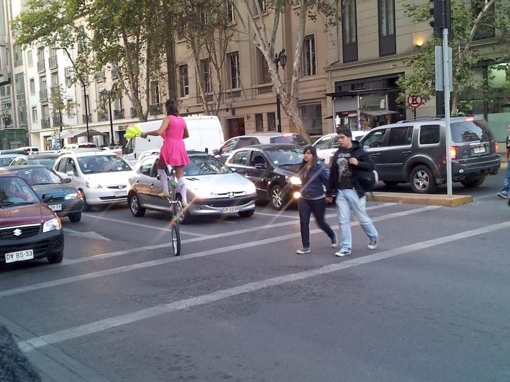 Santiago, Chile - Juggler