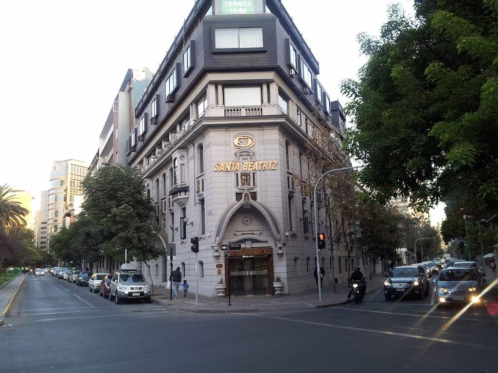 Santiago, Chile - Santa Beatriz