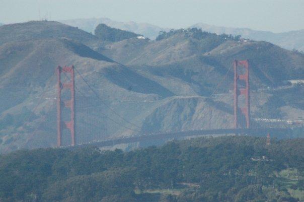 Sausalito, California USA - Golden Gate Bridge
