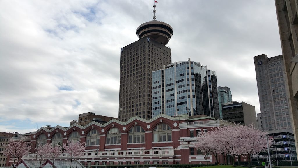 Vancouver, BC Canada - Cherry Blossoms