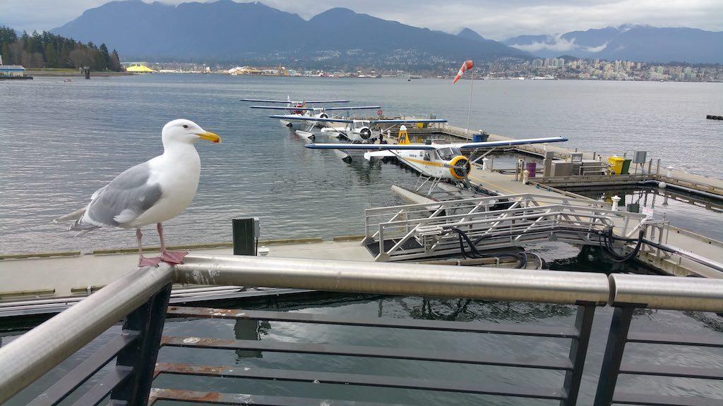 Vancouver, BC Canada - Vancouver Seaplane Harbour