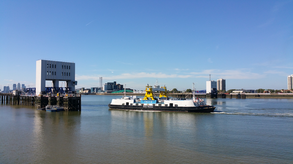 Woolwich, United Kingdom - Woolwich Ferry