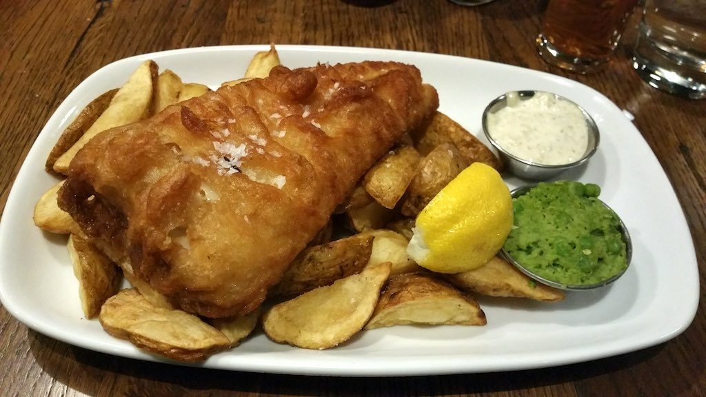 Woolwich, United Kingdom - Fish and Chips