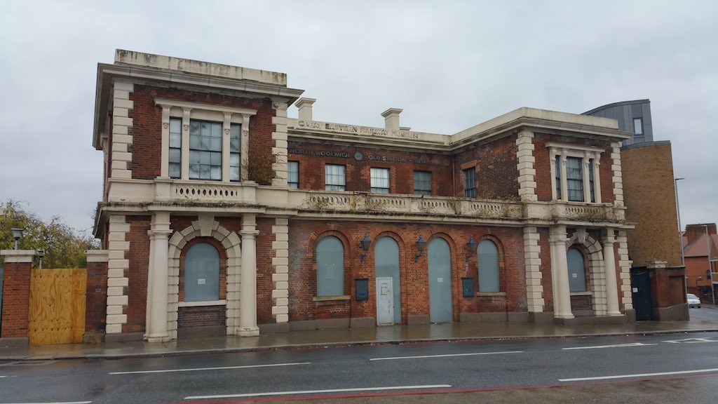 Woolwich, United Kingdom - North Woolwich Railway Station