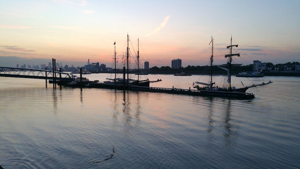 Woolwich, United Kingdom - Tall Ships