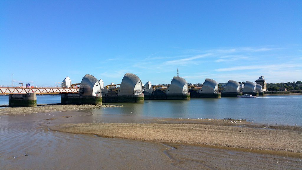 Woolwich, United Kingdom - Thames Barrier