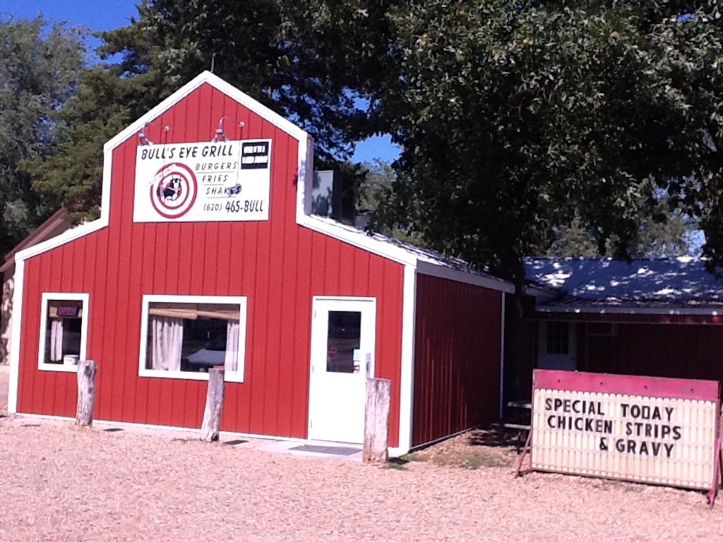 Yoder, Kansas USA - Bulls Eye Grill