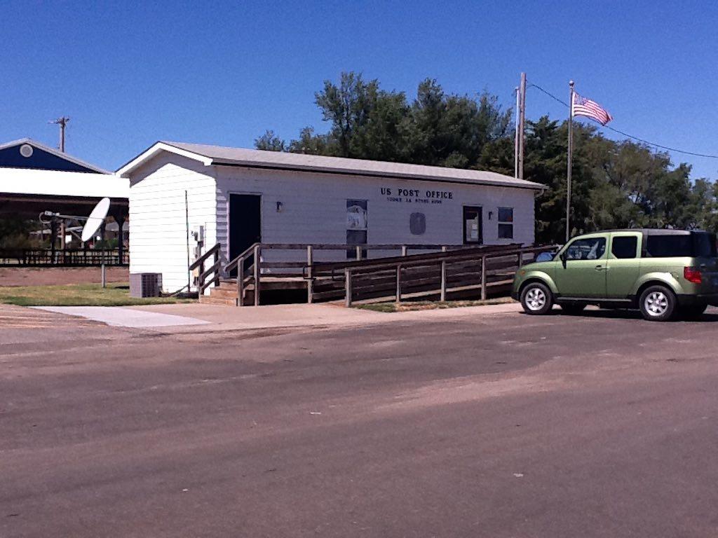 Yoder, Kansas USA - Post Office