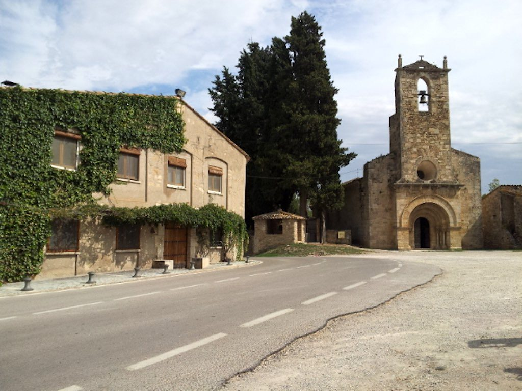 Banyoles Costa Brava, Spain - Church