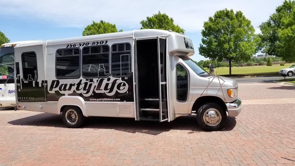 Huntsville, Alabama USA - Party Life Bus