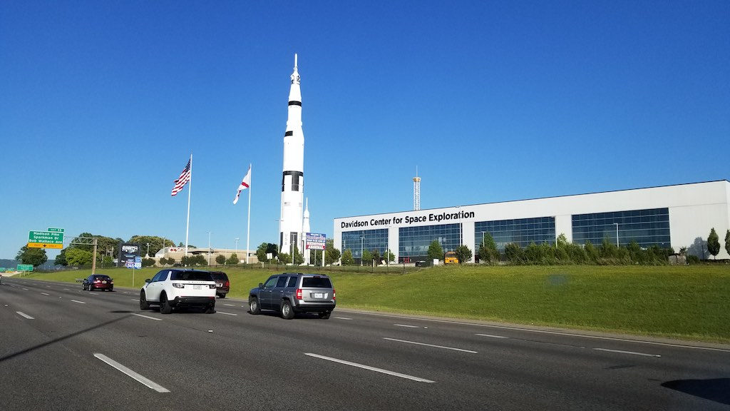 Birmingham, Alabama USA - Davidson Center for Space Exploration