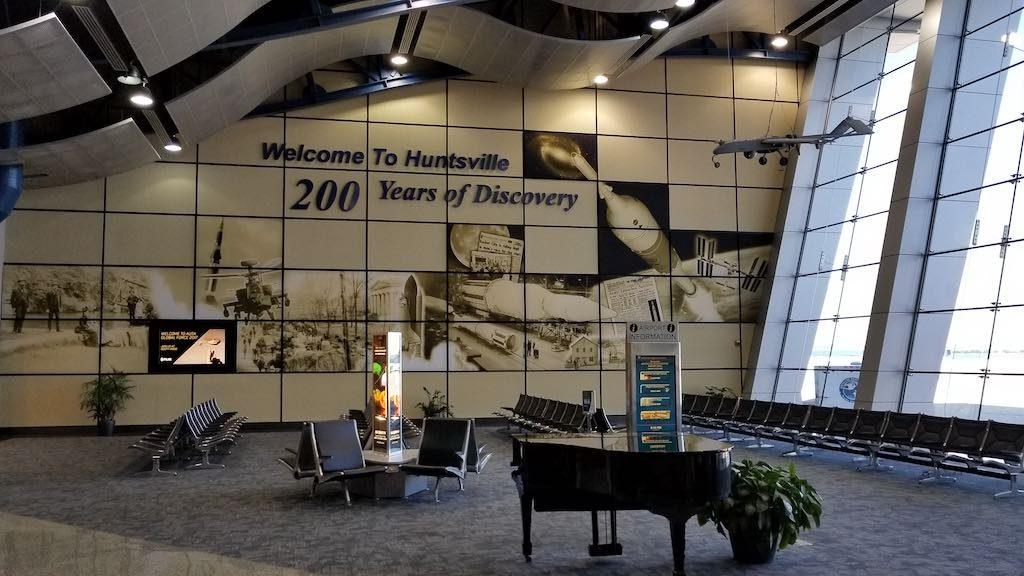 Huntsville, Alabama USA - Huntsville Airport (HSV)