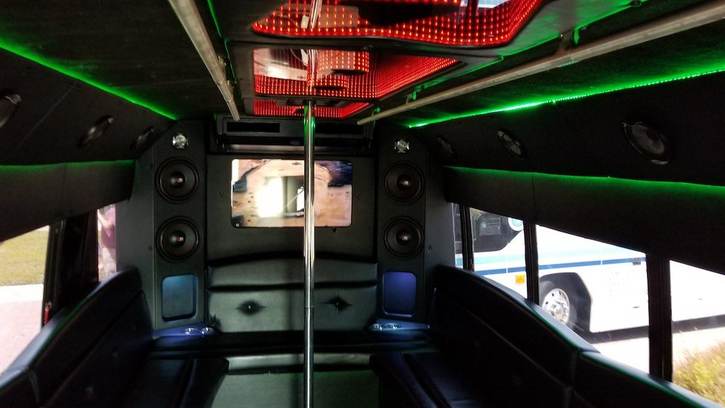 Huntsville, Alabama USA - Party Life Bus