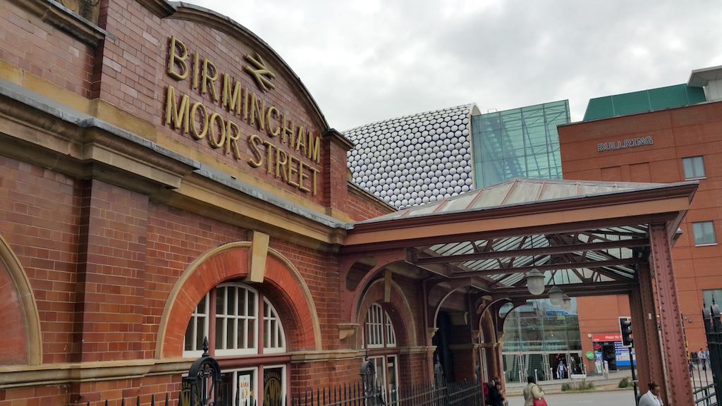 Birmingham, United Kingdom - Birmingham Moor Street Station