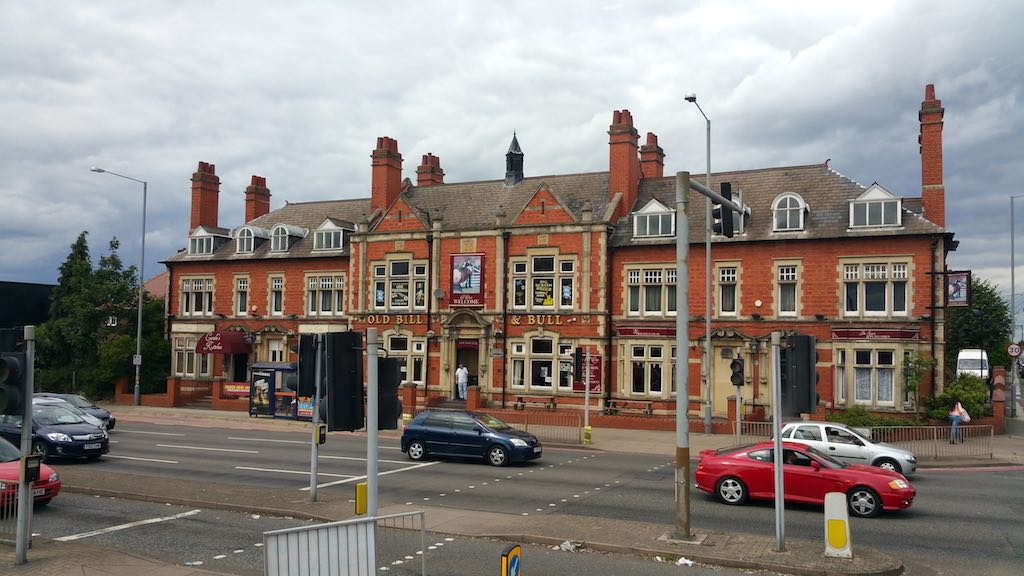 Birmingham, United Kingdom - Old Bill & Bull Pub