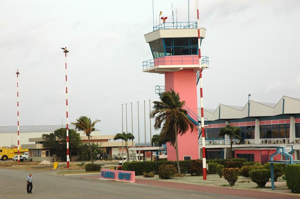 Bonaire, Netherlands - Flamingo Airport Tower (BON)