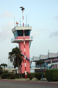Bonaire, Netherlands - Flamingo Airport Tower (BON)