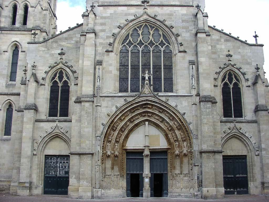 Bordeaux, France - Eglise Saint Pierre