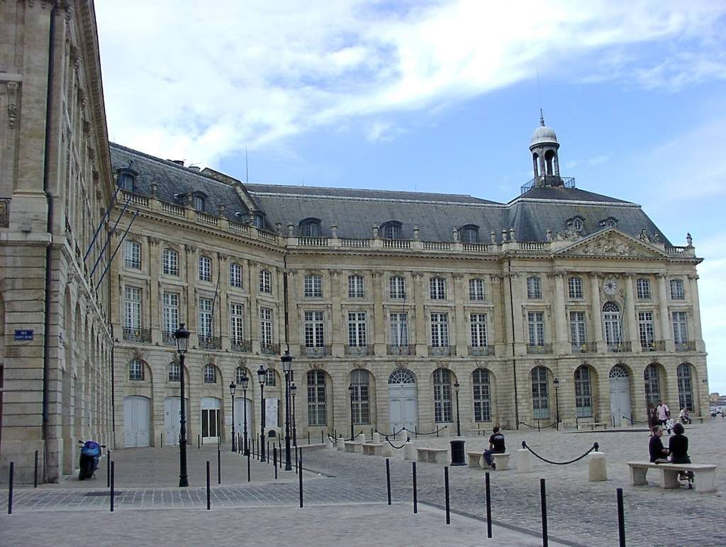 Bordeaux, France - Place de la Bourse