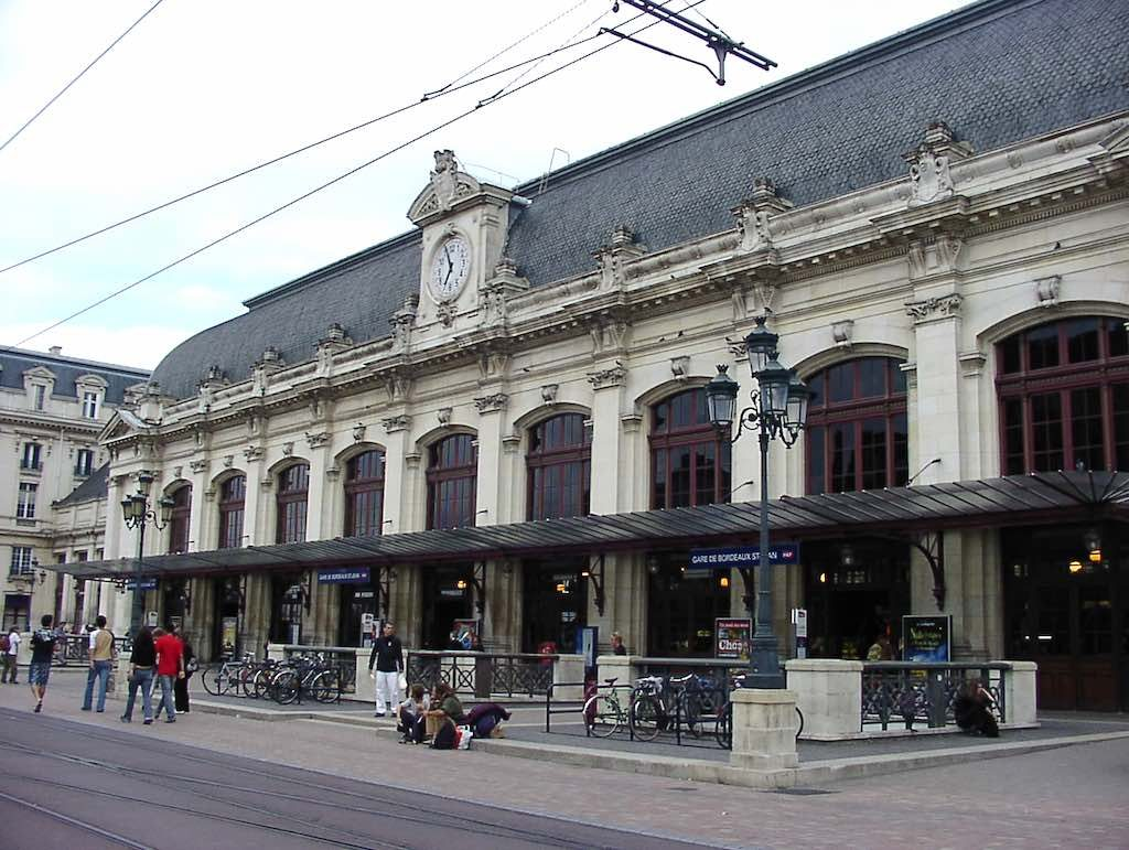 Bordeaux, France - Train Station