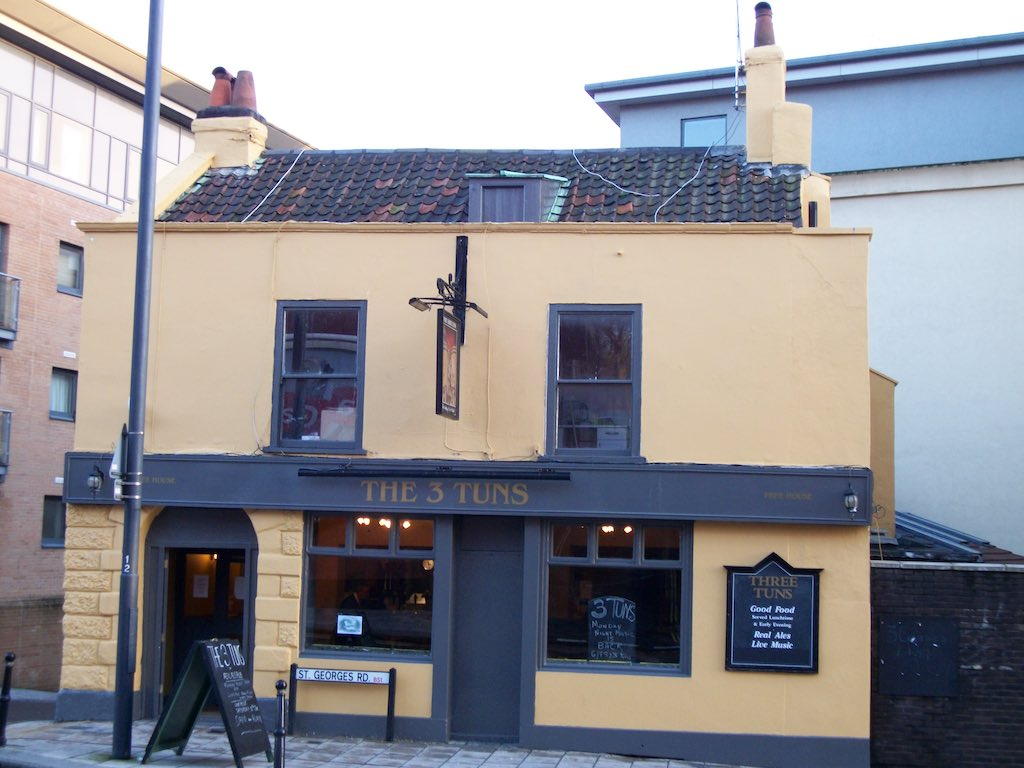 Bristol, United Kingdom - The 3 Tuns Pub