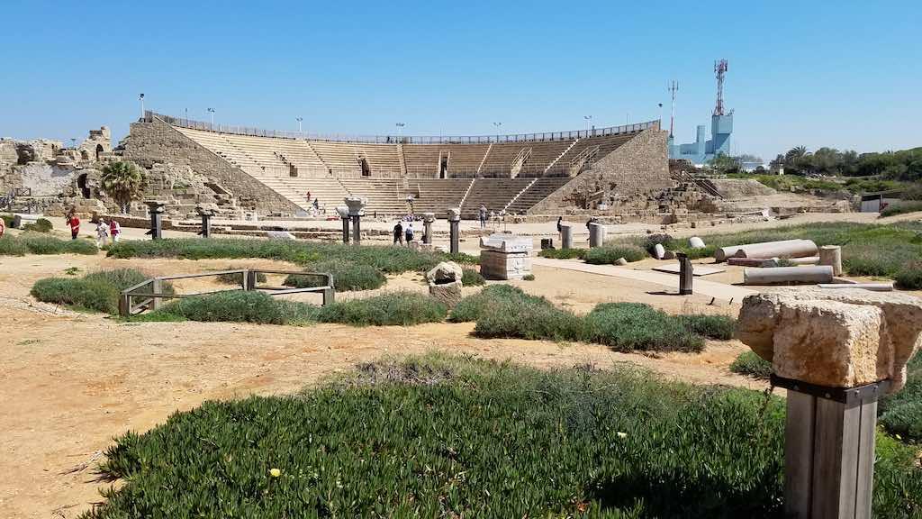 Caesarea National Park, Israel - Amphi-theatre
