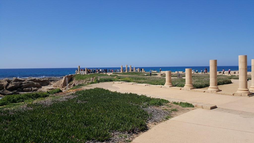 Caesarea National Park, Israel - Columns