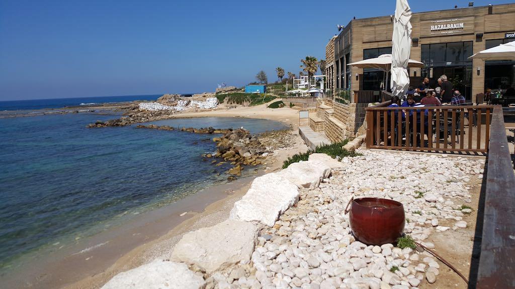 Caesarea National Park, Israel - Hazalbanim Restaurant