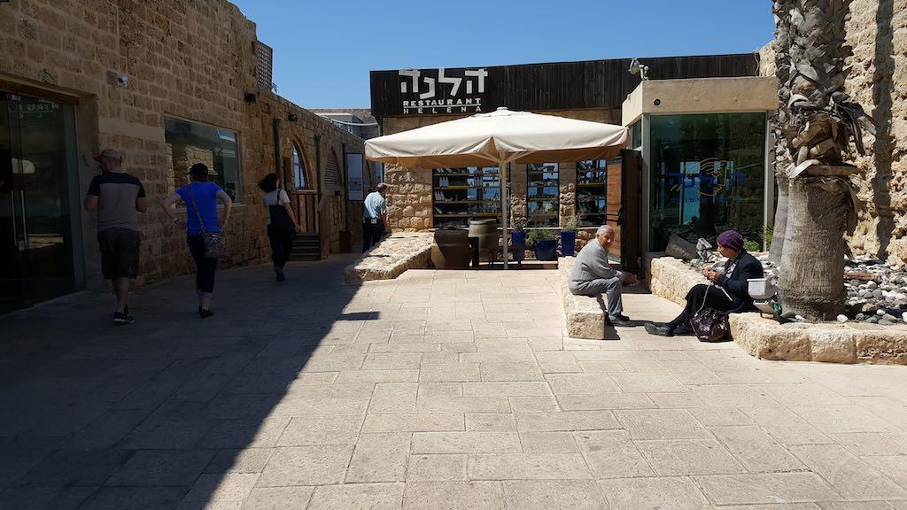 Caesarea National Park, Israel - Helena Restaurant
