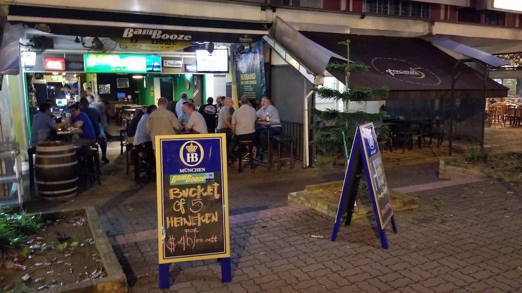 Changi, Singapore - Bam Booze