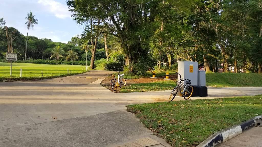 Changi, Singapore - Bike Rentals
