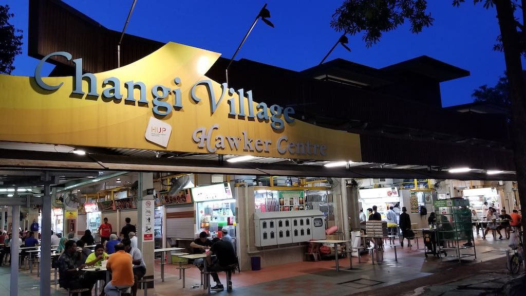 Changi, Singapore - Changi Village Hawker Center