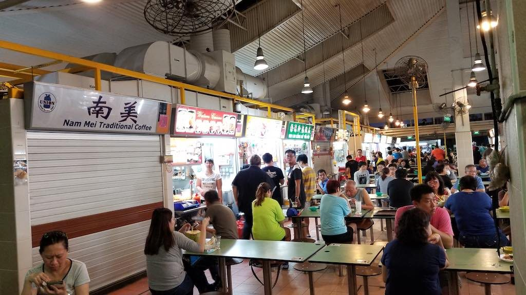 Changi, Singapore - Hawkers Market