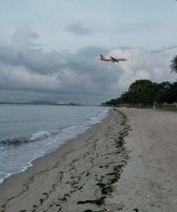 Changi, Singapore - Singapore Airlines Landing
