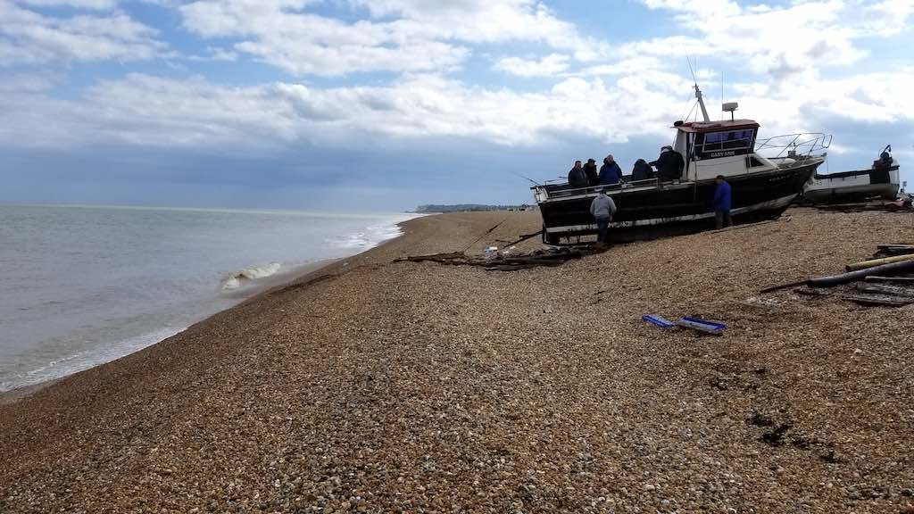 Deal Kent, United Kingdom - Boat on Beach