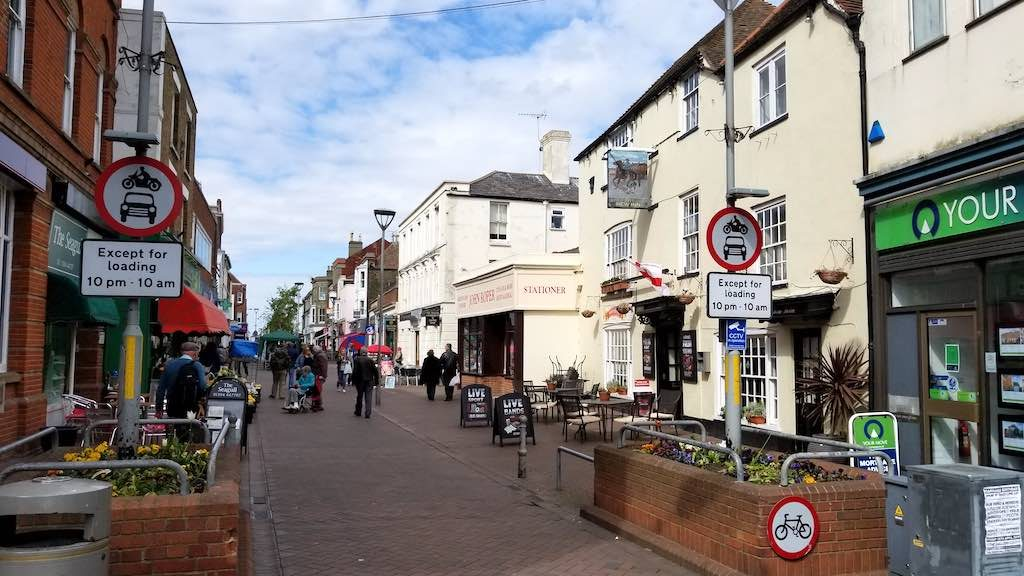 Deal Kent, United Kingdom - Deal High Street