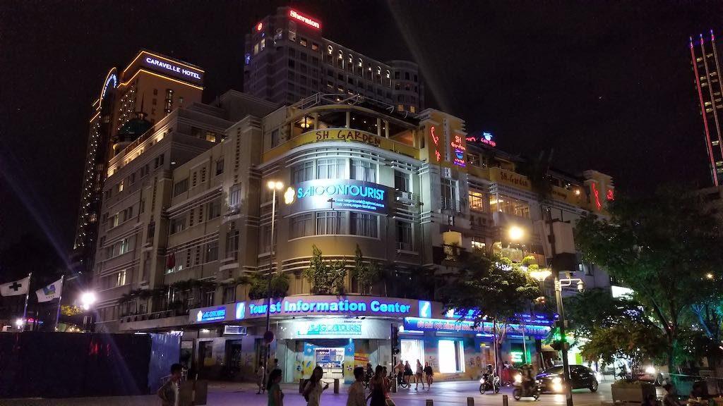 Ho Chi Minh City, Vietnam - Caravelle Hotel and Sheraton Hotel