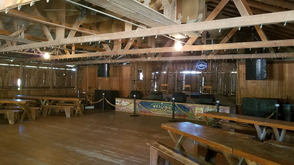 Luckenbach, Texas - Dance Hall