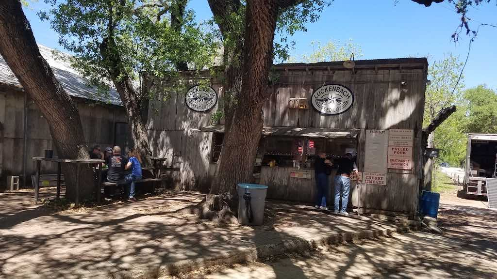 Luckenbach, Texas - Feed Lot