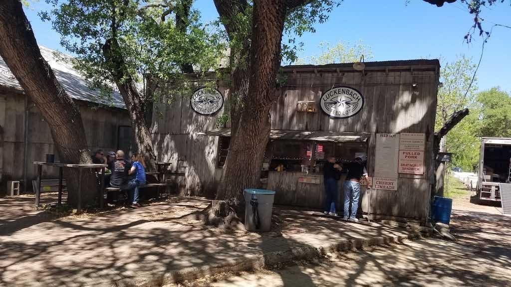 Luckenbach, Texas - Feed Lot