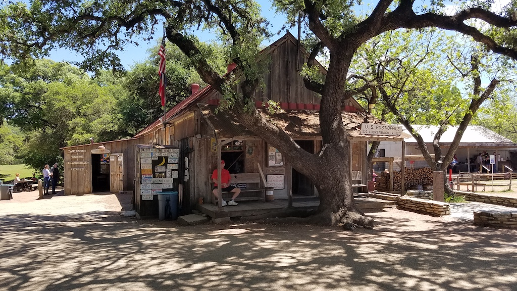 Luckenbach, Texas - Post Office