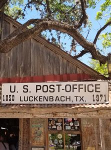 Luckenbach, Texas Post Office