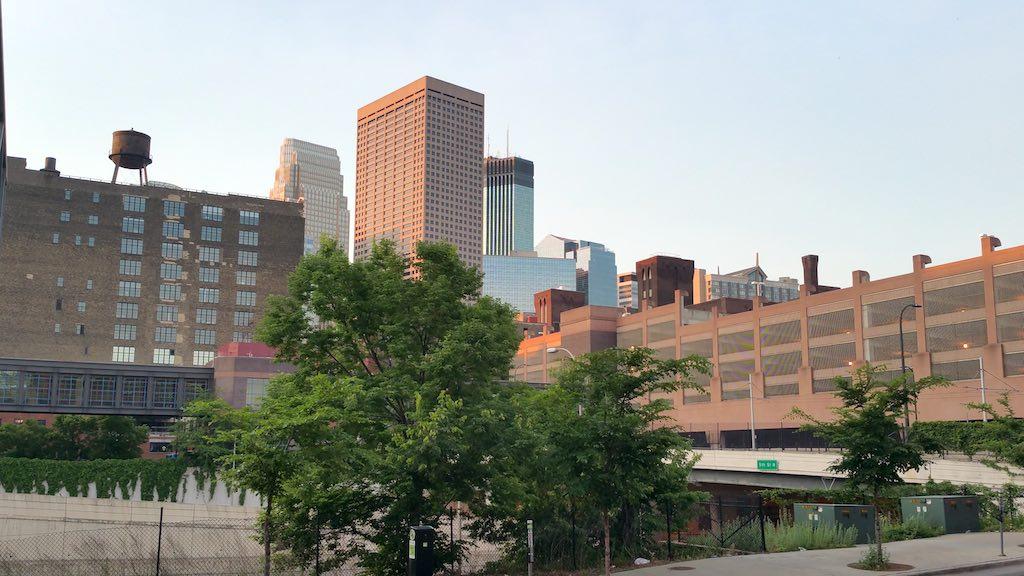 Minneapolis, Minnesota USA - Downtown View