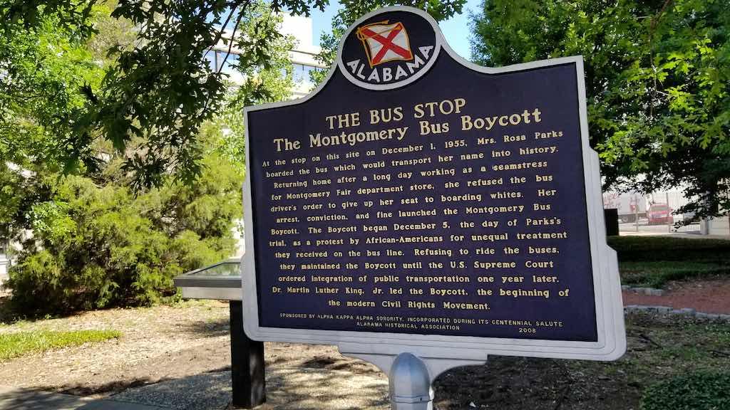 Montgomery, Alabama USA - Rosa Parks
