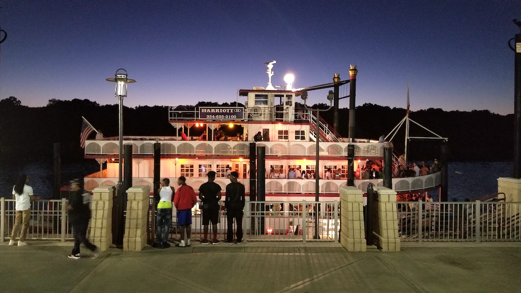 Montgomery, Alabama USA - The Harriott II Riverboat
