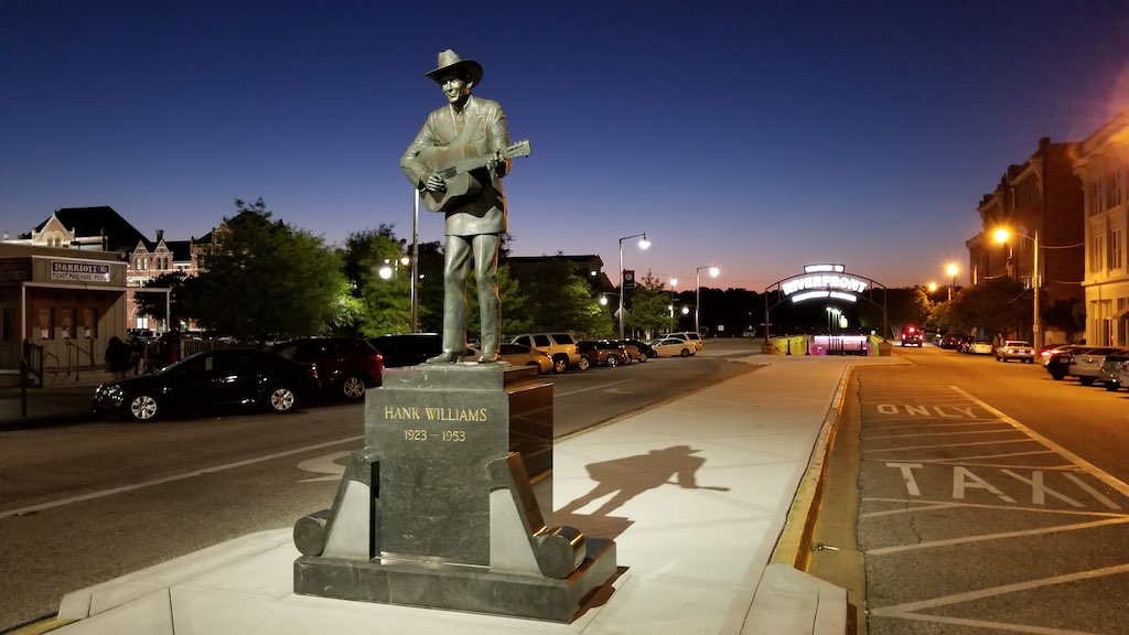 Montgomery, Alabama USA - Hank Williams Monument