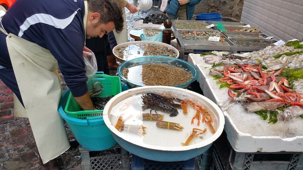 Naples, Italy - Seafood