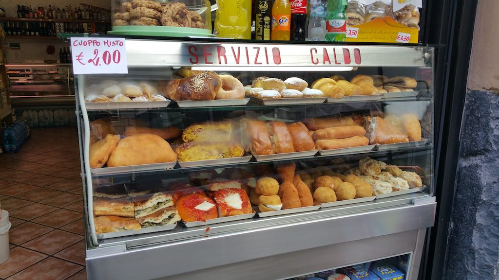 Naples, Italy - Street food