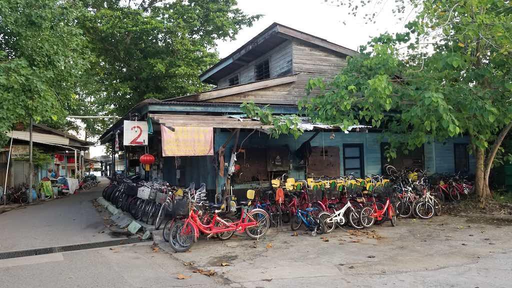 Pulau Ubin, Singapore - Bike Rentals
